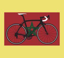 Bike Flag Morocco (Big - Highlight) Baby Tee