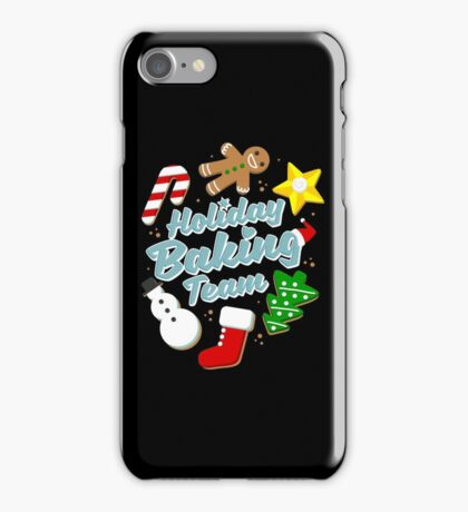 Holiday Baking Team iPhone Case/Skin