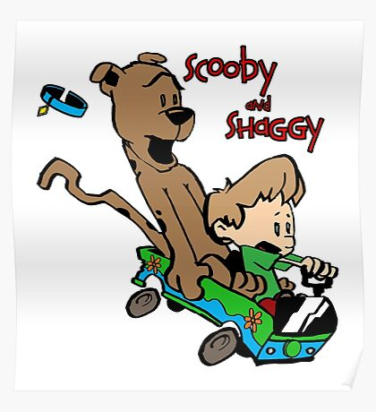 Scooby and Hobbes Poster