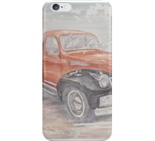 Black Bottomed Truck iPhone Case/Skin