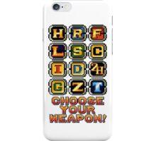 Metal Slug Weapons iPhone Case/Skin