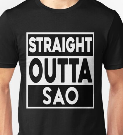 Straight Outta SAO Unisex T-Shirt
