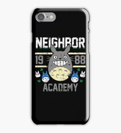 Neighbor Academy iPhone Case/Skin