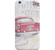 Red Chevy at Duffy's iPhone Case/Skin