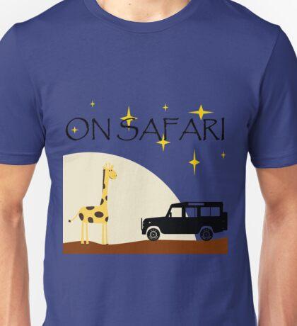 On Safari (at Night) - Defender 110 Unisex T-Shirt
