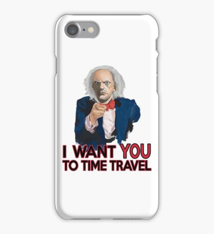 Doc Brown Wants You iPhone Case/Skin