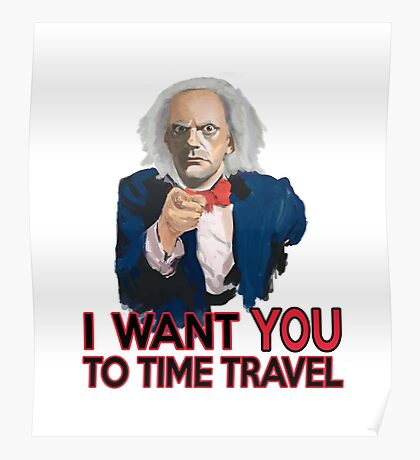 Doc Brown Wants You Poster