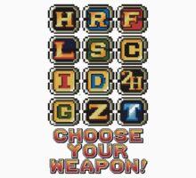 Metal Slug Weapons One Piece - Long Sleeve