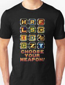 Metal Slug Weapons Unisex T-Shirt