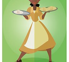 Symmetrical Princesses: Tiana by Jennifer Mark