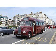 Guy Special vintage bus,  Photographic Print
