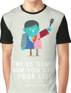 Live Your Life with Craig Sager Graphic T-Shirt