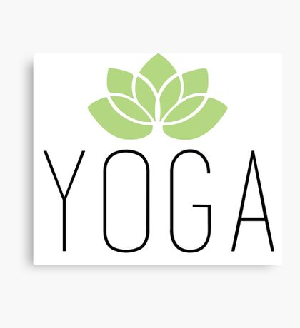 YOGA Canvas Print