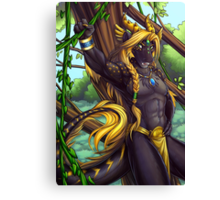 Forest Guardian Dragon Canvas Print