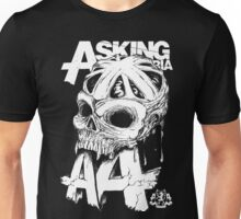 Asking Alexandria England Skull  tshirt and hoodie Unisex T-Shirt