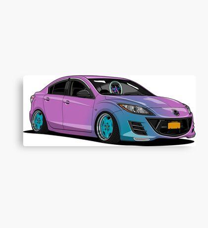 Mazda 3 Canvas Print