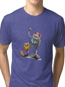 PokeFinn & PokeJake Tri-blend T-Shirt