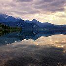 Dusk on Lake Kochel by Kasia-D