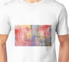 Iced Lights Abstract Unisex T-Shirt