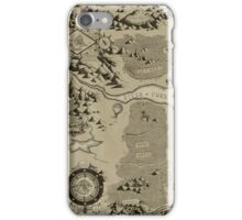 Old Worldly Map iPhone Case/Skin