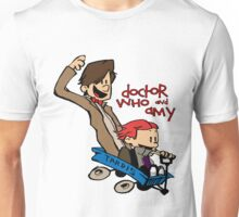 Doctor Who and Amy Unisex T-Shirt