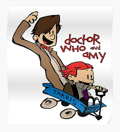 Doctor Who and Amy Poster