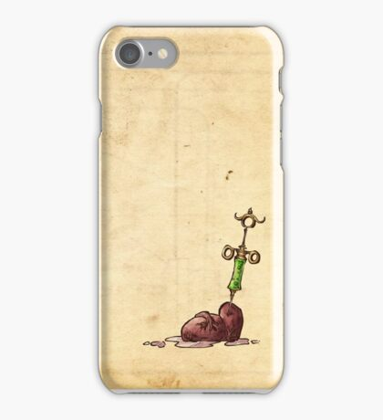 Cure for the heart - texture iPhone Case/Skin