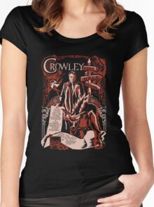 Crowley Woodcut Women's Fitted Scoop T-Shirt