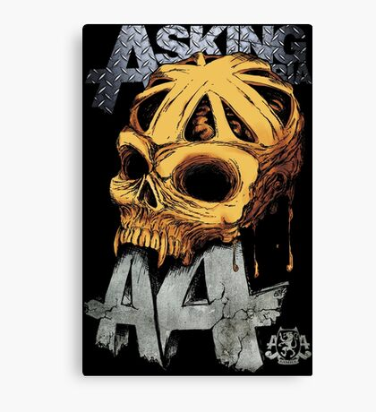 Asking Alexandria Colored England Skull  tshirt and hoodie Canvas Print