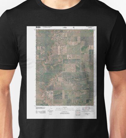 USGS TOPO Map Colorado CO Grover NE 20110114 TM Unisex T-Shirt