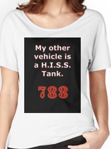 My other vehicle is a H.I.S.S. Tank Sticker Alternative Women's Relaxed Fit T-Shirt