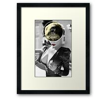Be My Life Saver Framed Print