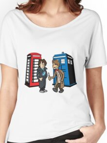 Doctor Who and Sherlock Women's Relaxed Fit T-Shirt