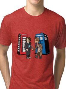 Doctor Who and Sherlock Tri-blend T-Shirt