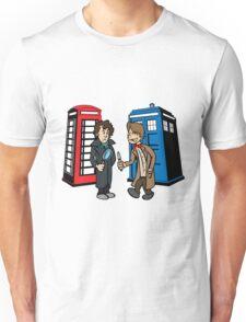 Doctor Who and Sherlock Unisex T-Shirt