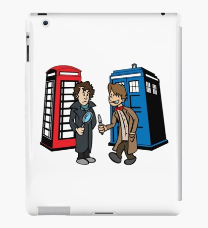 Doctor Who and Sherlock iPad Case/Skin