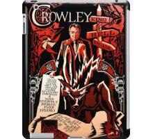 Crowley Woodcut iPad Case/Skin