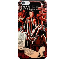 Crowley Woodcut iPhone Case/Skin