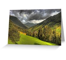 Zillertal Greeting Card
