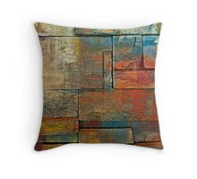 Up Against the Wall Throw Pillow