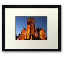 St Saviour's Cathedral, Goulburn Framed Print