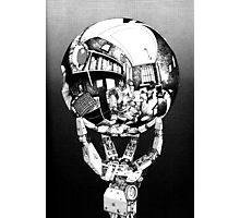 Sci Fi Anime Escher tribute Photographic Print