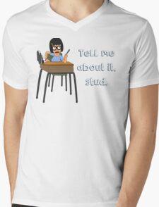 Bad Tina Mens V-Neck T-Shirt