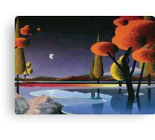 Surreal Earth Canvas Print