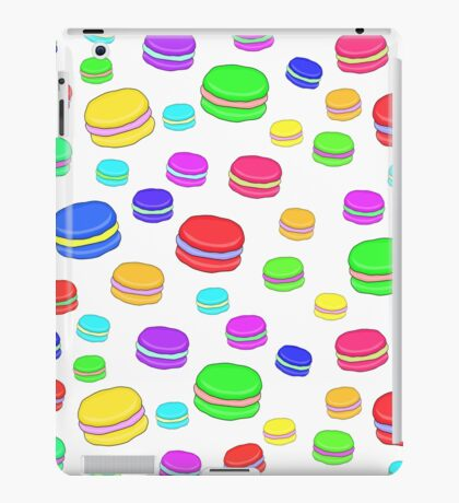 Colorful macaroons iPad Case/Skin