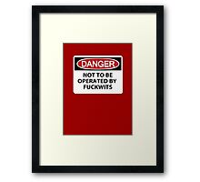 Operation: Impossible Framed Print