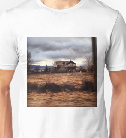 Farmhouse in New Mexico Unisex T-Shirt