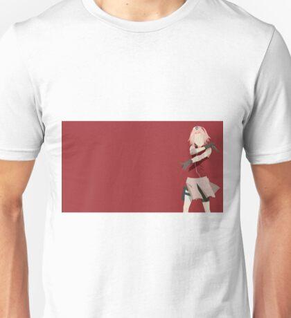 Naruto Sakura minimalist Unisex T-Shirt
