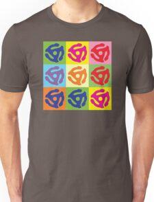 Pop Art Vinyl Record 45 Holder Unisex T-Shirt