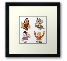 THIS IS ME NOW Framed Print